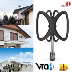 1Byone Outdoor HDTV TV Antenna 180 Miles Amplified 360° Rec