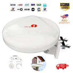 1Byone Outdoor Omni-directional TV Antenna 360 Degree Recept