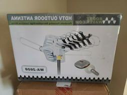 Outdoor TV Antenna Amplifier Combo HD Remote Booster Channel