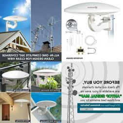 Outdoor Tv Antenna For Multiple Tvs, Antop Ufo Amplified Roo