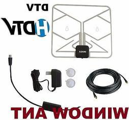 PAPER THIN HD TV DIGITAL ANTENNA W/ DTV Booster CAMPER RV BO