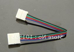 Corcrest 10pcs/lot LED PCB Connector Adapter For 5050RGB LED
