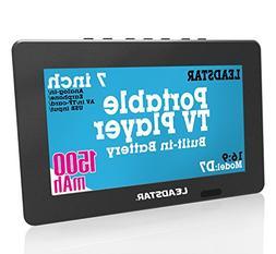LEADSTAR 7 Inch Portable Small Digital ATSC TFT HD Screen Fr