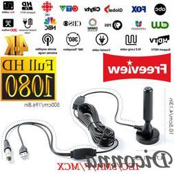 Portable Indoor/Outdoor TV Antenna Digital TV Aerial for HD