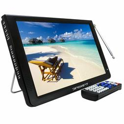 """Trexonic Ultra Lightweight Rechargeable 12"""" LED TV With HDMI"""