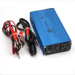 AIMS 180 Watt Pure Sine Car Power Inverter with Cables USB P