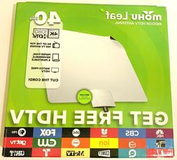 Mohu Reversable Leaf TV Antenna Indoor 40 Mile Range