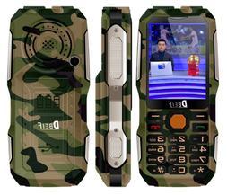 Rugged Mobile Phone Magic Voice Dual Flashlight Power Bank A