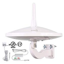 Outdoor/RV HDTV Antenna,ANTOP UFO AT-415B Complete 720º Cov