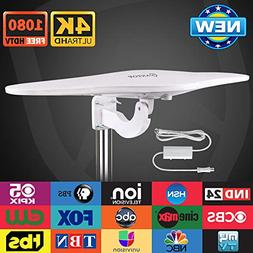 Outdoor/RV HDTV Antenna - ANTOP Omni-Directional Wing TV Ant