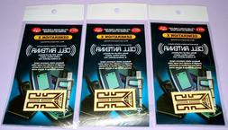 Set of 3 As Seen on TV Cell Phone Antenna Booster and Safegu