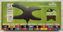 Mohu Sky 60 TV Antenna In/Outdoor Amplified 75 Mile Range Du