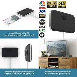 Slx Tv Antenna Ultra Compact For Digital Tv Indoor 4K Hd | F
