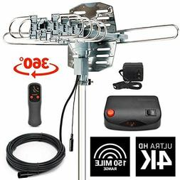 InstallerParts Snap On Amplified Outdoor HDTV Antenna - 150