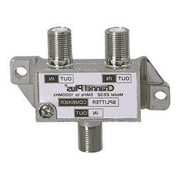 2 Way Splitter Combiner Bi-Directional 1 GHz Video Signal Co