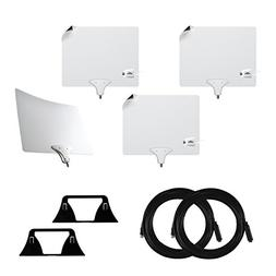 Mohu Suburbs Cord Cutting Premium 4-pack with three Leaf 50