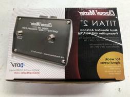 Channel Master Titan 2 TV Antenna Booster Amplifier Digital
