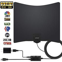 TV Antenna, 2019 New HDTV Indoor Digital Amplified TV Antenn