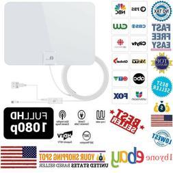 1byone TV Antenna 50Miles Digital Antena Indoor HD with Ampl