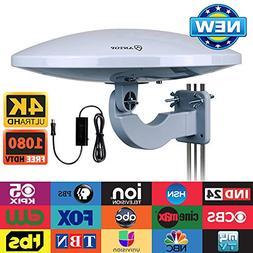 Outdoor TV Antenna -Antop Omni-Directional 360 Degree Recept