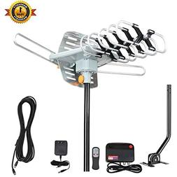 VIEWTEK TV Antenna, Outdoor Amplified HDTV Antenna with Adju