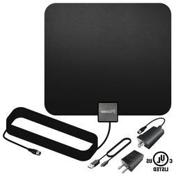 TV Antenna, ANKO Indoor Amplified HDTV Antenna with Detachab