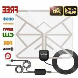 Wsky TV Antenna Indoor, HD Digital TV Antenna, 60-100 Miles