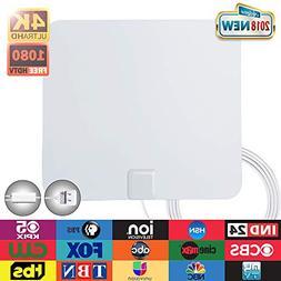 Digital TV Antenna-ANTOP Indoor HDTV Antenna 50 Miles Range