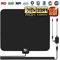 HD TV ANTENNA INDOOR,GIAYOUNEER Updated 2018 Newest HDTV Dig