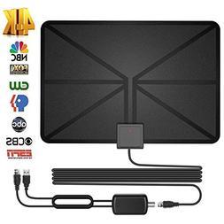HD Digital TV Antenna - Best Amplified HDTV Antenna 60 Mile