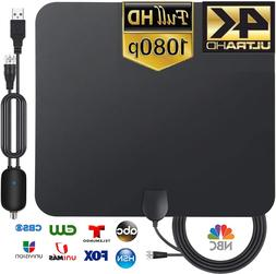 TV Antenna Newest Indoor HDTV Amplified Digital TV Antenna 4