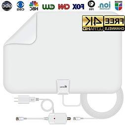 Vansky Amplified Digital HD TV Antenna 65-80 Mile Range Loca