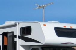 TV Antenna UHF VHF Booster Over Air Outdoor RV Trailer Sensa