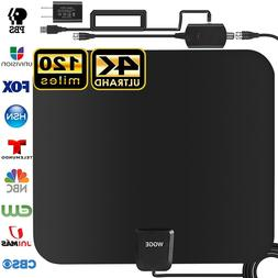 TV Antenna, Upgraded Newest HDTV Indoor Digital Amplified TV