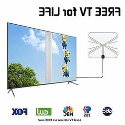 TV Antennas for Digital TV Indoor 500 Mile Long Range with D