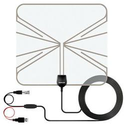 TV Antennas for Digital TV Indoor 500 Mile Range W/Amplifier
