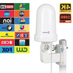 ANTOP UFO Omni Outdoor/Attic/RV HDTV Antenna with Smartpass