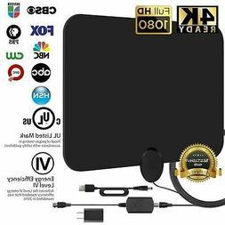 Ultra Thin Flat Indoor HDTV Amplified HD TV Signal Antenna 1