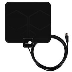 1byone Digital Amplified Indoor HD TV Antenna 50-85 Miles R