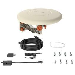 US 150 Miles TV Antenna Indoor Outdoor Omni-directional 360