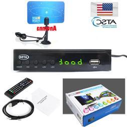 USA 1080P Digital ATSC Receiver DVB-C Clear QAM Cable TV Tun