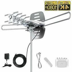 vansky outdoor amplified hd tv antenna 150