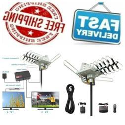 Vansky Outdoor TV Antenna 150 Mile Range Digital Amplified H