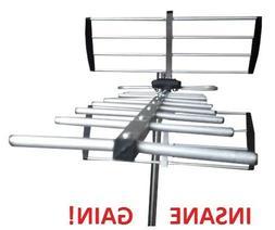 Very Long Range 250 Mile TV Antenna  - Indoor / Outdoor HDTV