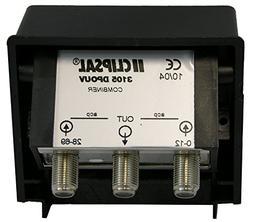 Weatherproof MATV Antenna Combiner/Joiner/Separator, Combine