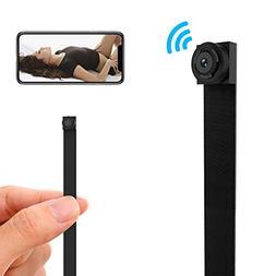 WiFi Spy Camera, 1080P HD Mini Hidden Camera Wireless Nanny