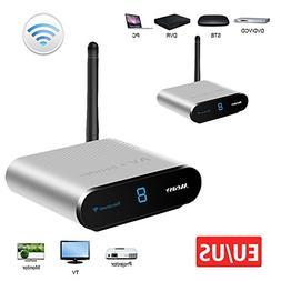 Wireless AV SD Sender measy AV530 TV Transmitter and Receive