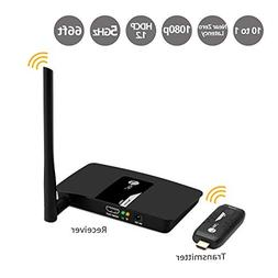 SIIG 1080p 10x1 Wireless HDMI Extender Kit  Meeting Gateway