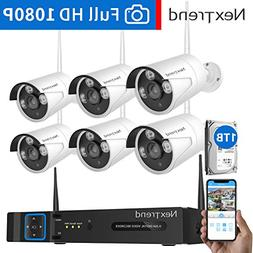 Wireless Security Camera System, NexTrend 8CH 1080P WiFi NV